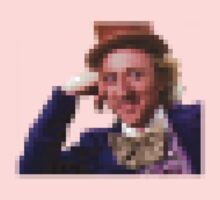 Willy Wonka Pixelated Meme by tomdavies