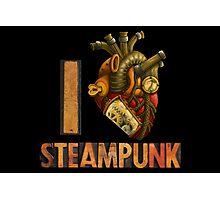 I Heart Steampunk Photographic Print
