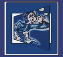 blue boy runnin' (square) (front) by dedmanshootn