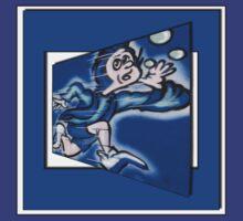 blue boy runnin' (square) (front) by dedmanshootn