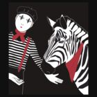 Mime Zebra by Carswell King