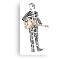 Frank Turner Canvas Print