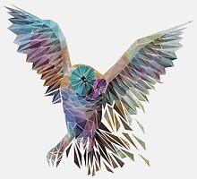Geometric Owl by Thiago García