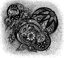 Inkie Baubles #1 by TwistyrobDesign