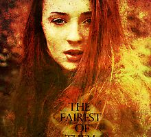 Sophie Turner - Sansa Stark - The Fairest Of Them All by Eca L