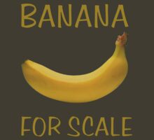 Banana for Scale by tidyware