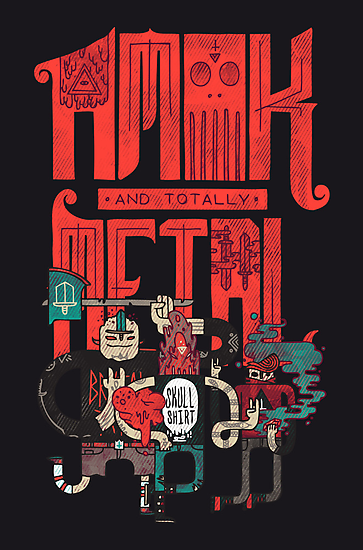Amok and Totally Metal by Hector Mansilla