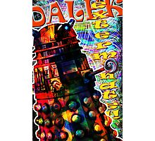 Dalek - Exterminate! by Mark Compton Photographic Print