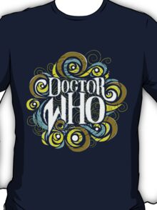 Whimsically Wibbly Wobbly Timey Wimey - Dark Shirt The First T-Shirt