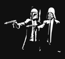 Vader & Boba - Men in Black by AbsoluteLegend