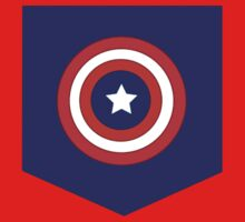 Captain America Pocket Tee by alpacastiel