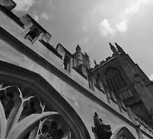Bath Abbey by JackDowling