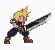8-bit Cloud by nonsoloart