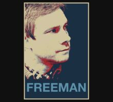 Martin Freeman - Hope Poster by ILoveTrain