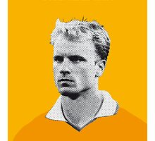 My Bergkamp soccer legend poster by Chungkong