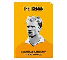 My Bergkamp soccer legend poster Photographic Print