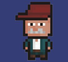 8-bit  scruffy the janitor by Trust50