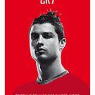 My Ronaldo soccer legend poster by Chungkong
