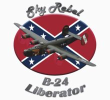 B-24 Liberator Sky Rebel by hotcarshirts