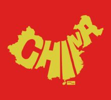 China Type Map (Yellow) by seanings