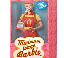 Barbie mcdonalds by letthemeatgas