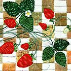 Strawberries by Bozena Wojtaszek