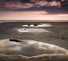 Beach Mirrors 01 by Paul Croxford