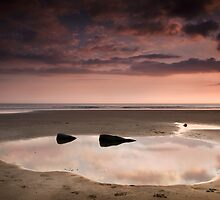 Beach Mirror by Paul Croxford