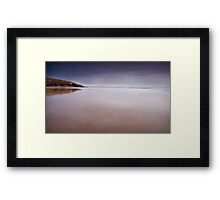 Dunraven Bay Simple Framed Print