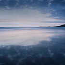 Dunraven Bay Reflection 04 by Paul Croxford
