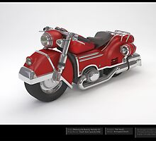 Motorcycle - 3D Model  by Liam  Golden