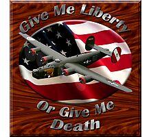 B-24 Liberator Give Me Liberty Photographic Print