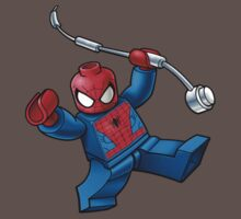 Lego spider-man t-shirt by cepas321