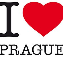 I ♥ PRAGUE by eyesblau