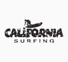 California Surfing Patina Black by theshirtshops