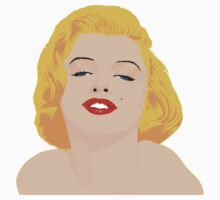 marylin monroe in color T-Shirt