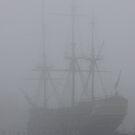 Amsterdam Ship in Mist by CreativeEm