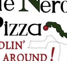 Little Nero's Pizza Sticker