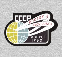 Soviet Mission Patch- Vostok 3-4 by cadellin
