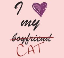I love my cat by Mystikitten