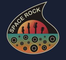 Space Rock vintage  decoration Clothing & Stickers by goodmusic