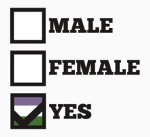My Gender Is Yes by ayries