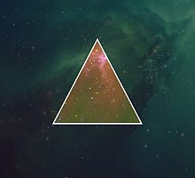 Hipster Space Triangle by AbsoluteLegend