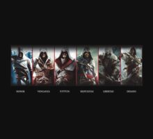 Assassins Creed Portrait with Spanish Words and Such! by ----User
