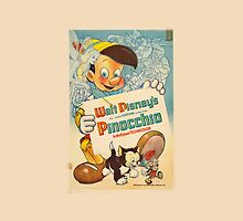 Pinocchio Poster Iphone Case by MatthewStudios