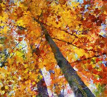 TREES 2 by Jean Gregory  Evans