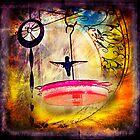Little Dancing Hummingbird by Rhonda Strickland
