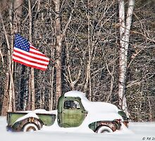 Patriotic Winter by Richard Bean
