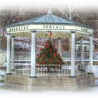 Christmas Gazebo by James Brotherton