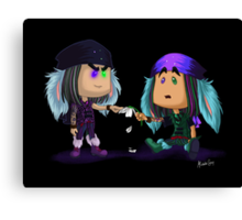Mad T Party - Dorchadas & Thackery Canvas Print